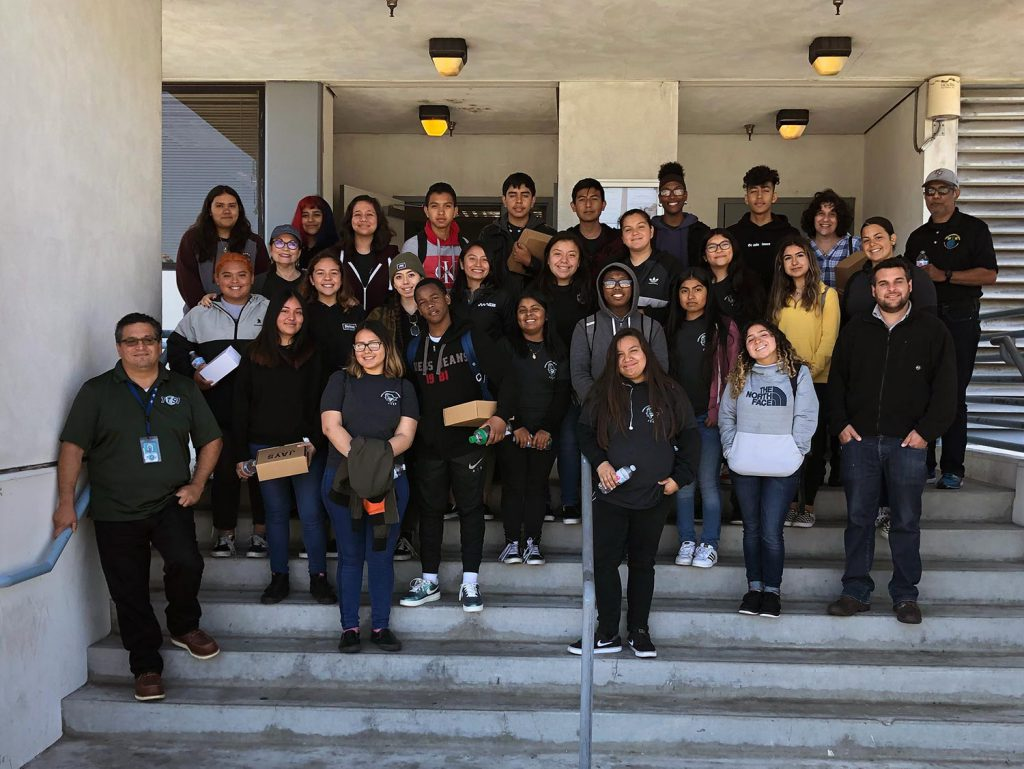 Global Environmental Academy of San Pedro High visits TTSI