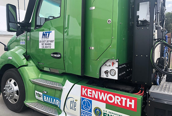 Kenworth Hydrogen Battery Electric