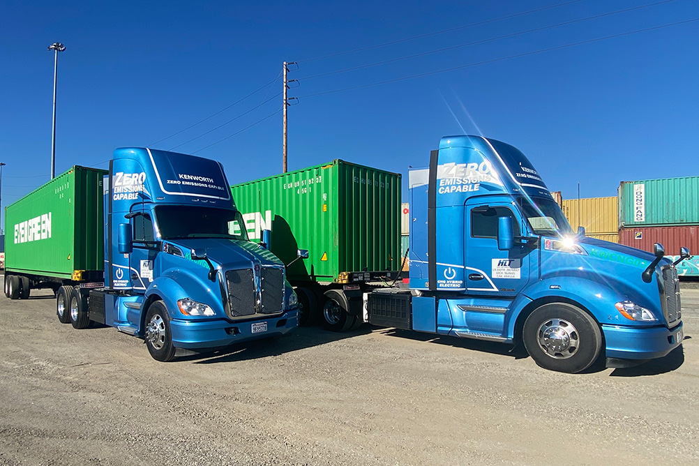 Near Zero Emission Kenworth T680