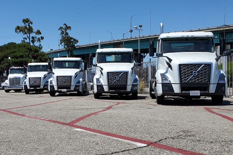 Near Zero Emissions Trucks are in!