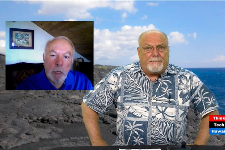 Vic LaRosa interviewed on ThinkTech Hawaii