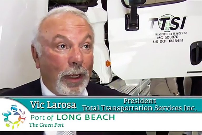 Vic La Rosa, President TTSI talks about the benefits of hydrogen