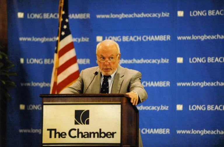 Vic La Rosa's speech at the Long Beach Chamber of Commerce Luncheon